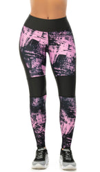 LEGGING CURVAS FIT ROSA