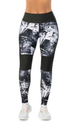 LEGGING CURVAS FIT NEGRO