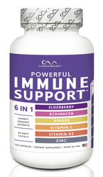 IMMUNE SUPPORT 6 IN 1 - 60 DAYS