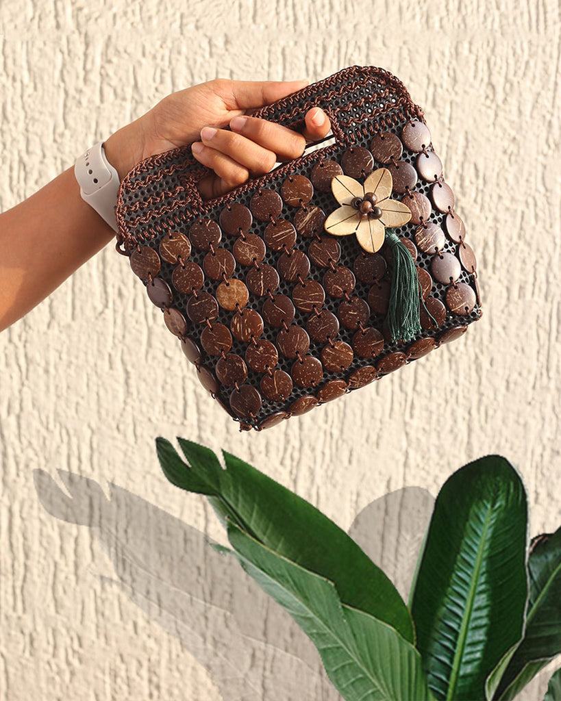coconut shell hand bags
