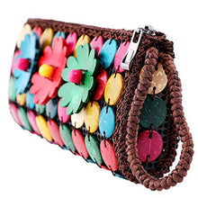 Load image into Gallery viewer, DAISYLIFE Natural and Eco-Friendly Coconut Shell Clutch Bag
