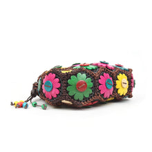 Load image into Gallery viewer, DAISYLIFE Natural and Eco-Friendly Colorful Floral Coconut Shell sling bag