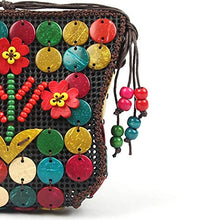 Load image into Gallery viewer, DAISYLIFE Natural and eco friendly coconut shell sling bags