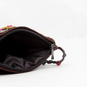 DAISYLIFE Natural and eco friendly coconut shell sling bags