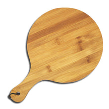 Load image into Gallery viewer, DAISYLIFE Natural and Eco-Friendly Bamboo 10 / 8 Inch Pizza Platter and Serving Tray