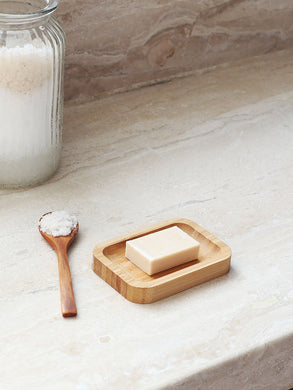 'Suds & Bamboo' Solid Bamboo Soap Stand