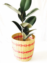 Load image into Gallery viewer, Bamboo bucket planter