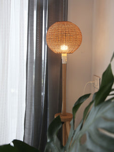 DaisyLife natural wicker lampshade