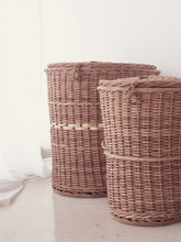 Load image into Gallery viewer, DaisyLife natural wicker baskets for storage and home decor