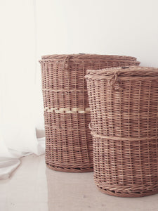 DaisyLife natural wicker baskets for storage and home decor
