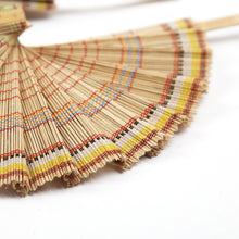 Load image into Gallery viewer, DaisyLife natural bamboo  fan
