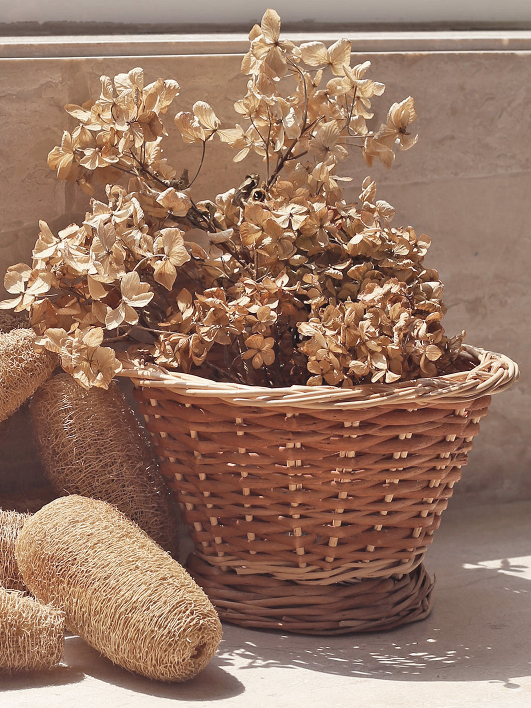 'Bouquet' multipurpose wicker basket