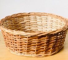 Load image into Gallery viewer, DaisyLife natural warm wicker baskets for wall decor and storage
