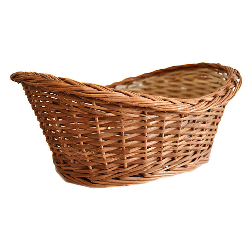 DAISYLIFE Natural Willow Wicker basket, Bread,  Flower Basket, Gift Basket, Storage and home decor basket