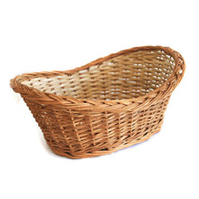 Load image into Gallery viewer, DAISYLIFE Natural Willow Wicker basket, Bread,  Flower Basket, Gift Basket, Storage and home decor basket