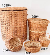 Load image into Gallery viewer, DaisyLife natural wicker basket set with planter, storage and home decor baskets