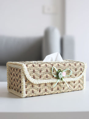DaisyLife natural bamboo decorative tissue box