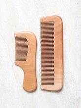 Load image into Gallery viewer, DaisyLife natural wooden comb