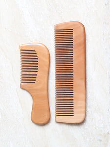DaisyLife natural wooden comb