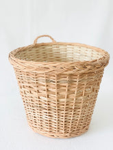 Load image into Gallery viewer, Set of 2- Round tub wicker planter basket