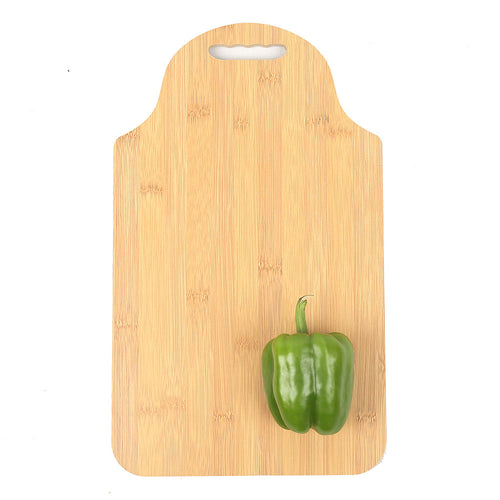 DAISYLIFE Natural Color, Eco-friendly and Lightweight Bamboo Chopping Board cum Serving Platter for snacks