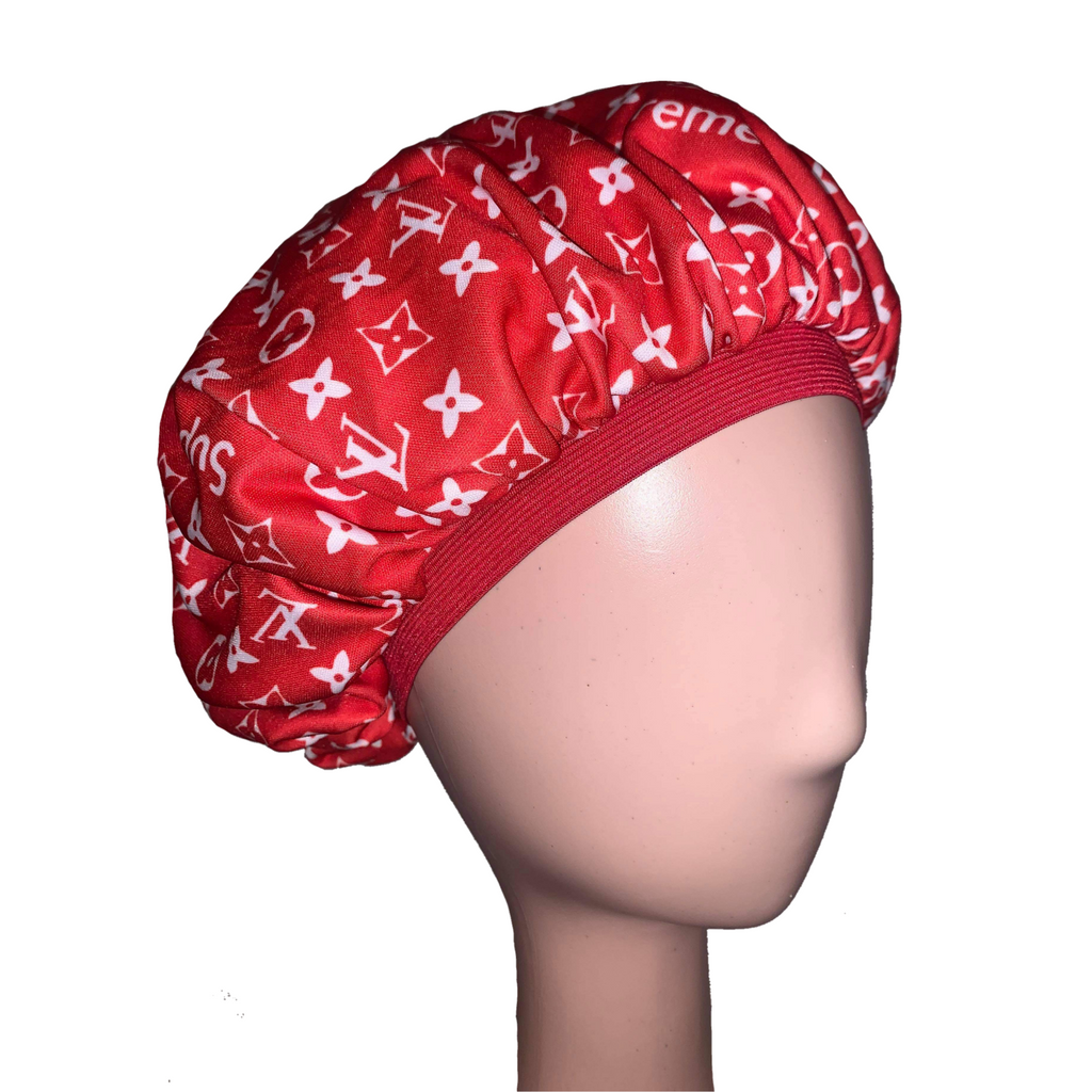 LV x Supreme Bonnet (Red)