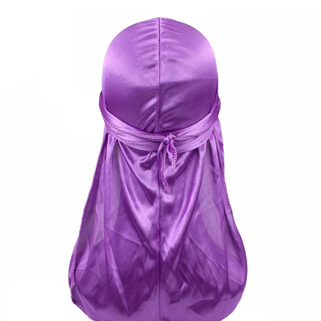 Silk Durag (Purple)-duragsbyday-Durags by Day