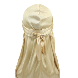 Silk Durag (Champagne Gold)-duragsbyday-Durags by Day