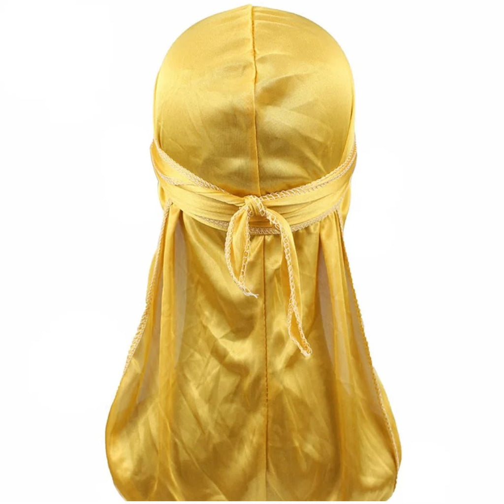 Silk Durag (Gold)-duragsbyday-Durags by Day