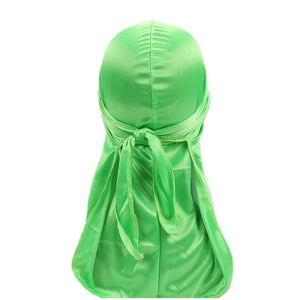 Silk Durag (Lime Green)-duragsbyday-Durags by Day