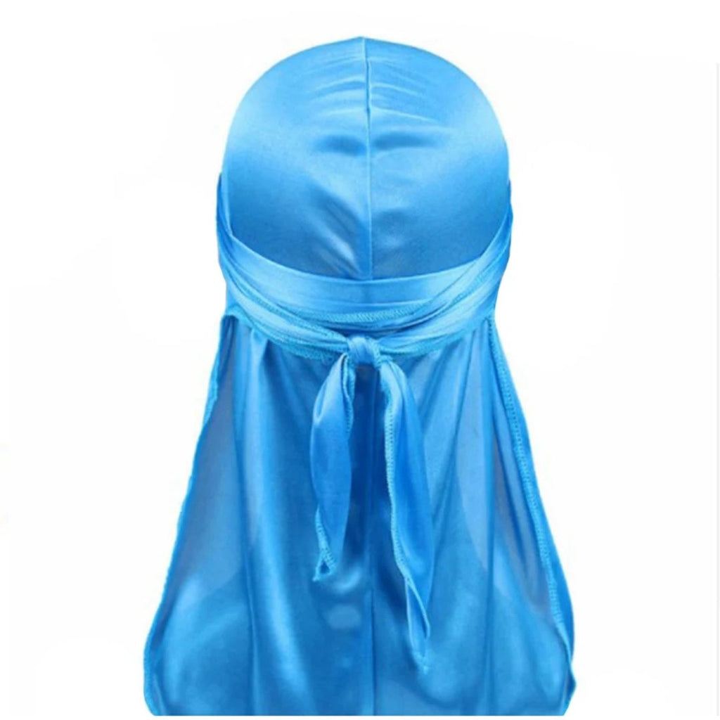 Silk Durag (Light Blue)-duragsbyday-Durags by Day
