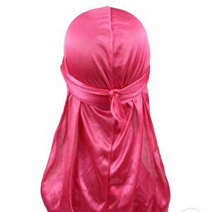 Silk Durag (Hot Pink)-duragsbyday-Durags by Day