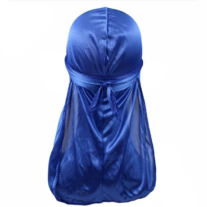 Silk Durag (Royal Blue)-duragsbyday-Durags by Day