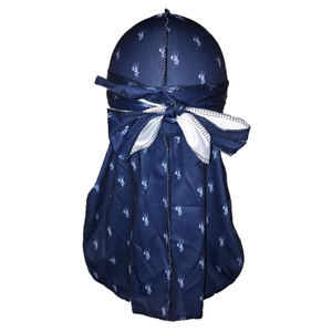 Polo Ralph Lauren (Blue & White)-duragsbyday-Durags by Day
