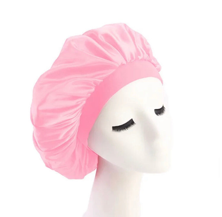 Silk Bonnet (Light Pink)