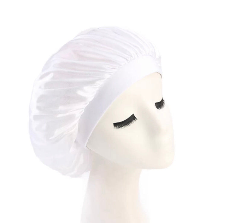 Silk Bonnet (White)