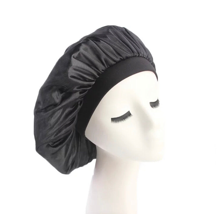 Silk Bonnet (Black)