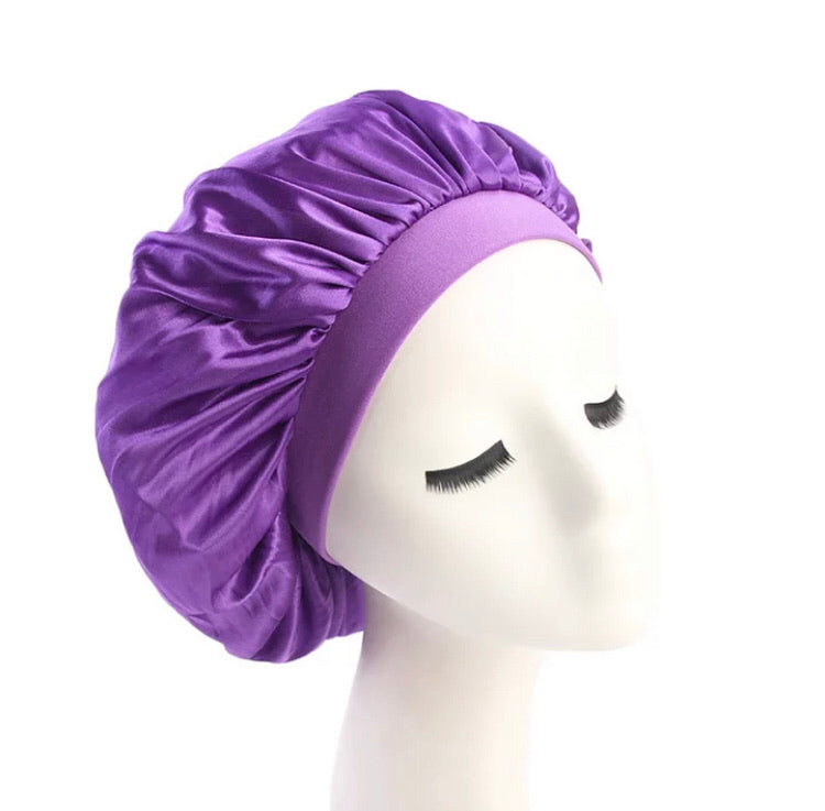 Silk Bonnet (Purple)