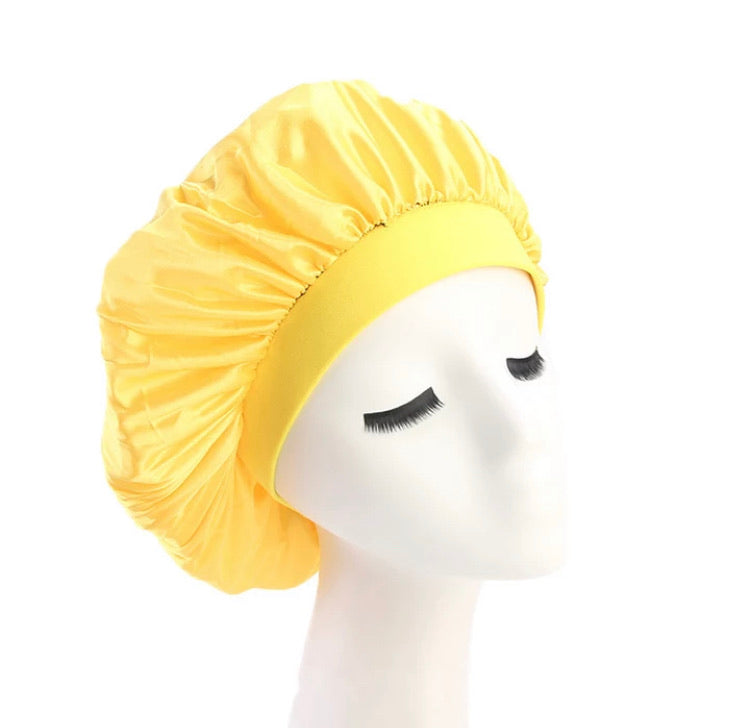 Silk Bonnet (Yellow)