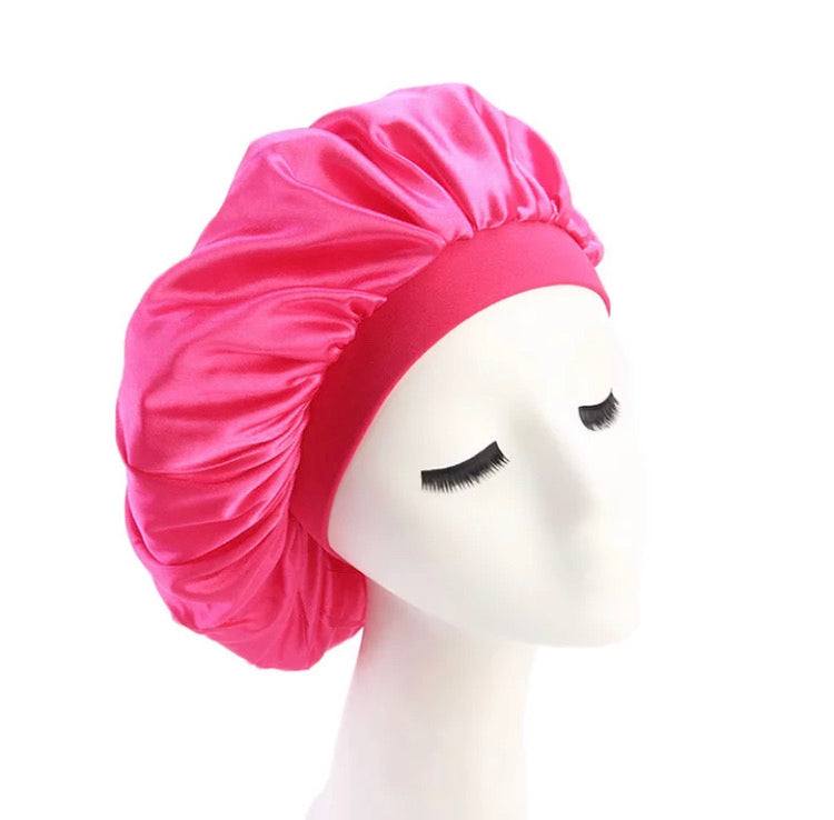 Silk Bonnet (Hot Pink)