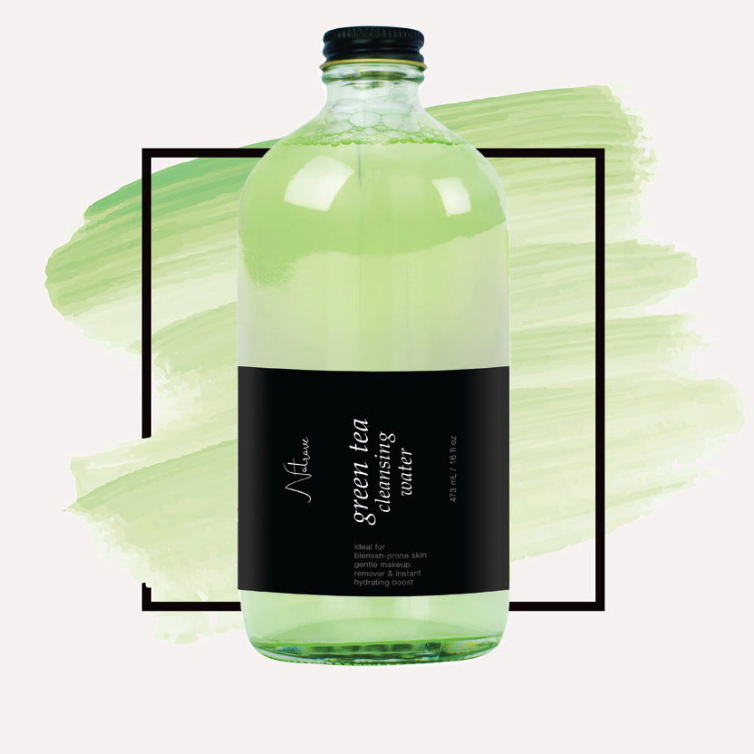 Green Tea Cleansing Water