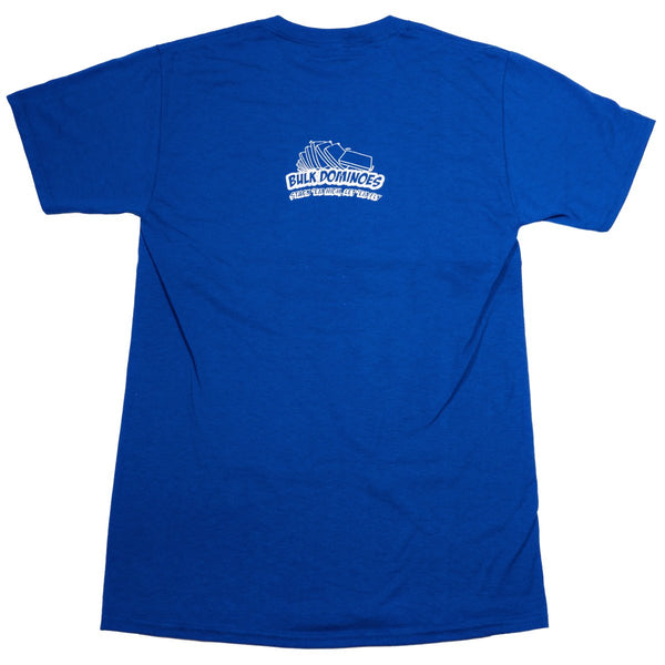 Bulk Dominoes - Blue Block T-Shirt