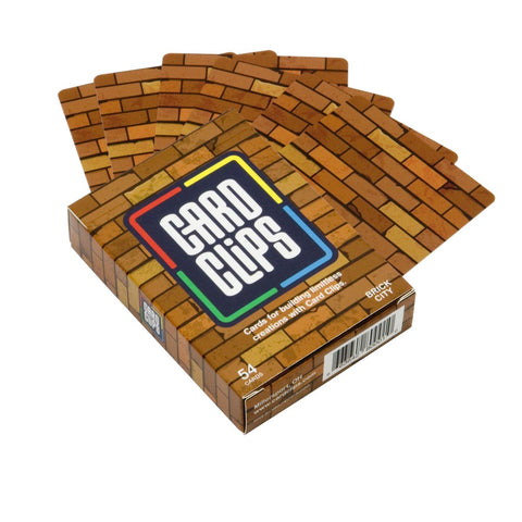 Image of Building Cards - Brick City