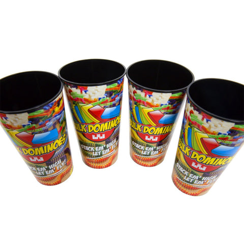 Image of Bulk Domino 32oz Cups - 4 Pack