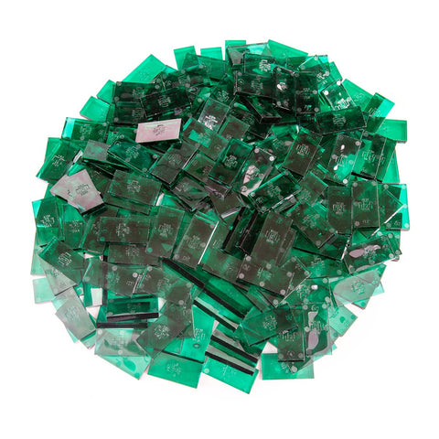 Image of Bulk Dominoes - Clear Jade