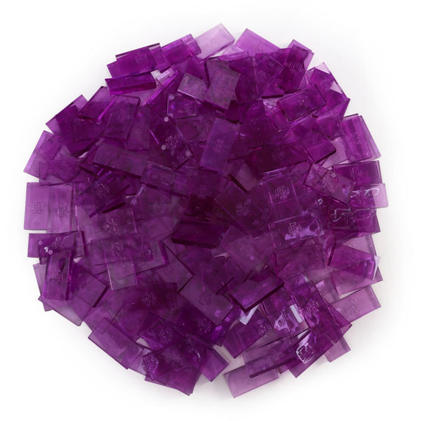 Bulk Dominoes - Clear Berry