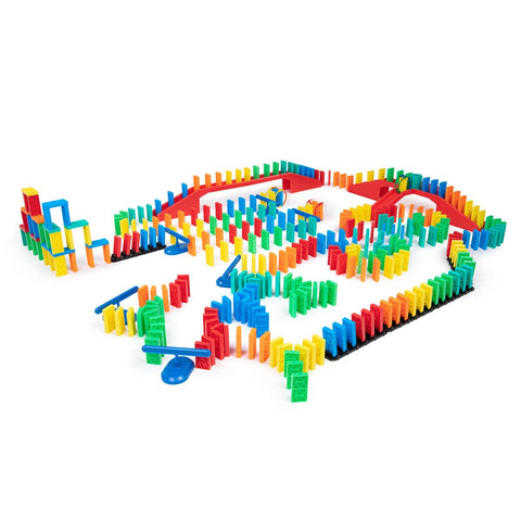 331 Pcs Kinetic Domino Toppling Kit