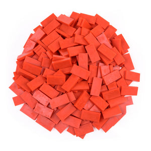 Bulk Dominoes - Lava Orange