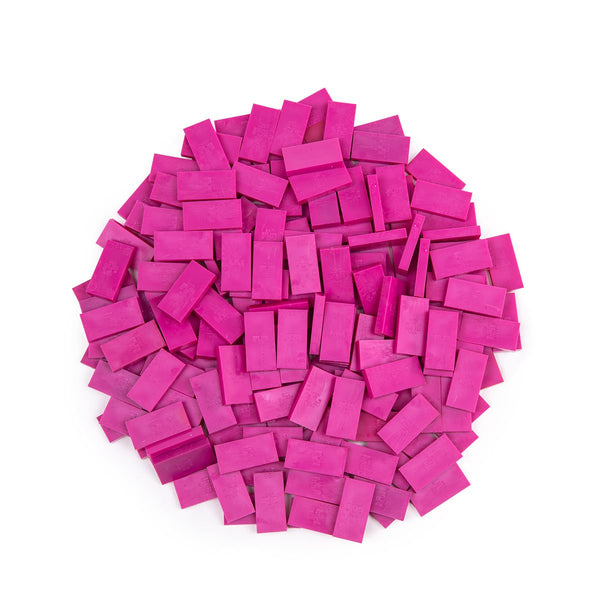 Bulk Dominoes - Mini Fuchsia