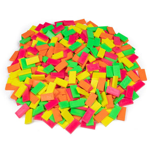 Bulk Dominoes - Neon Mixed